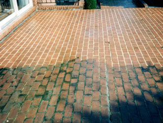 Brick Patio Cleaning Anne Arundel County Maryland
